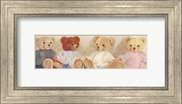 Four Bears sitting Fine-Art Print