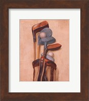 Golf Bag With Two Balls Fine-Art Print