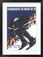 Chamonix World Championships Fine-Art Print
