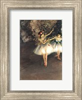 Two Dancers on a Stage Fine-Art Print