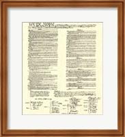 Constitution (Document) Fine-Art Print