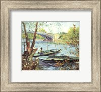 A Fisherman in His Boat Fine-Art Print
