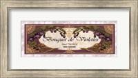 Bouquet De Violettes - Grande Fine-Art Print