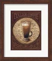 Italian Coffee - Mini Fine-Art Print