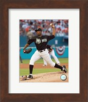 Dontrelle Willis - 2007 Pitching Action Fine-Art Print