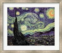 The Starry Night, c.1889 Fine-Art Print