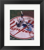 Mickey Mantle - Knelling in Batting Circle Fine-Art Print