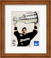 Ryan Getzlaf - 2007 Stanley Cup / With Cup (#19) Fine-Art Print