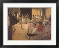 Ballet School, c. 1874 Fine-Art Print