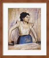 Girl At Ironing Board Fine-Art Print