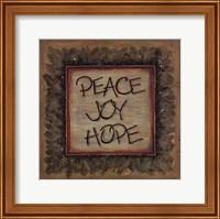 Peace Joy Hope Fine-Art Print