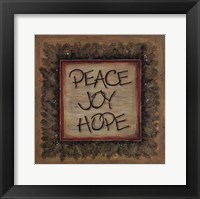 Peace Joy Hope Fine-Art Print