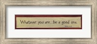 Whatever You Are Fine-Art Print