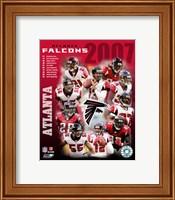 2007 - Falcons Team Composite Fine-Art Print