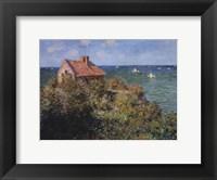 Fisherman's Cottage on the Cliffs at Varengeville, 1882 Fine-Art Print