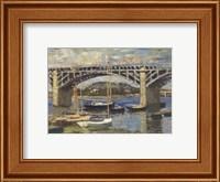 Bridge at Argenteuil (bridge center) Fine-Art Print