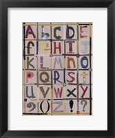 Alphabet Fine-Art Print
