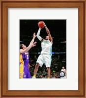 Allen Iverson 2007-08 Action Shooting Hoops Fine-Art Print