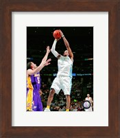 Allen Iverson 2007-08 Action Shooting Hoops Fine-Art Print