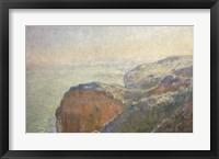 On the Cliffs, Dieppe Fine-Art Print