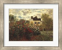 The Artist's Garden in Argenteuil Fine-Art Print