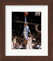 Allen Iverson 2007-08 Action Reaching for Hoop Fine-Art Print
