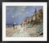 Beach at Trouville, c.1870 Fine-Art Print