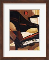 Abstract Piano - mini Fine-Art Print