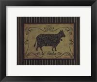 la Vache Fine-Art Print