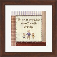 I'm Never in Trouble.. Fine-Art Print