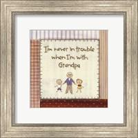 I'm Never in Trouble.. Fine-Art Print