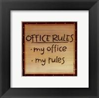Office Rules Fine-Art Print