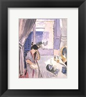 Woman Reading at a Dressing Table, late 1919 Fine-Art Print