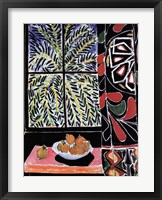 Interior with Egyptian Curtain Fine-Art Print