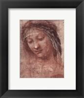 Woman's Head, Study Fine-Art Print