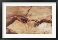 The Creation of Adam (detail) Fine-Art Print