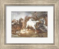 Fighting Horses Fine-Art Print