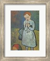 Child with Dove Fine-Art Print