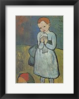 Child with Dove Fine-Art Print
