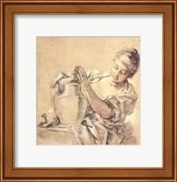 Girl with Jug Fine-Art Print