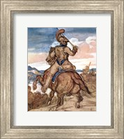 Mounted Officer Fine-Art Print