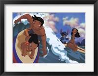 Lilo's Surfing Adventure Fine-Art Print