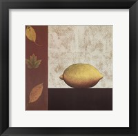 Lemon and Leaves Fine-Art Print