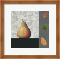 Pear and Leaves Fine-Art Print