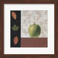 Green Apple and Leaves Fine-Art Print