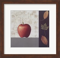 Red Apple and Leaves Fine-Art Print