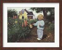 Little Gardener Fine-Art Print