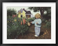 Little Gardener Fine-Art Print