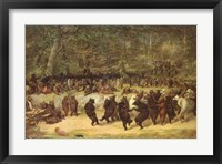 The Bear Dance, c.1870 Fine-Art Print