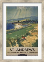 Vintage Golf - St Andrews Fine-Art Print